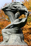 Chopin monument Royalty Free Stock Photos