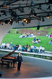 Chopin Piano Concert at Botanic Garden, Singapore Royalty Free Stock Photo