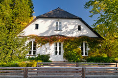 Chopins House. House of Frederic Chopin in Zelazowa Wola, Poland Royalty Free Stock Image