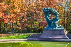 Free Chopin Statue Royalty Free Stock Image - 129452786