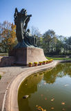 Chopin Statue, Warsaw, Poland Royalty Free Stock Photo
