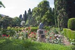 Chopinowski ` s ogród Valldemossa obraz stock