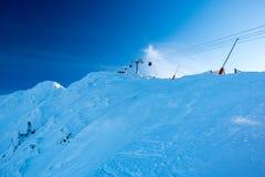 Chopok freeride zone, freeride skiing, Jasna, Low Tatras, Slovak. Ia, Europe Stock Photo