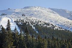 Chopok mountain in Low Tatras in Jasna.  Slovakia Stock Photography