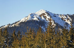 Chopok mountain in Low Tatras in Jasna.  Slovakia Royalty Free Stock Image