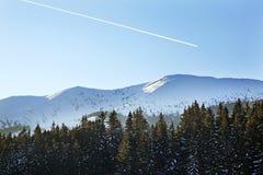 Chopok mountain in Low Tatras in Jasna.  Slovakia Royalty Free Stock Photography