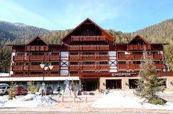 Chopok wellness hotel Royalty Free Stock Image
