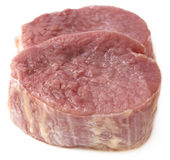 Chopped beef Royalty Free Stock Photo