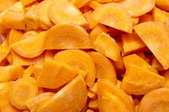 Chopped Carrot royalty free stock photography