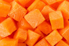 Chopped carrot stock photo