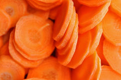 Chopped carrots Stock Photos