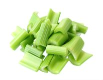 Chopped celery Royalty Free Stock Images