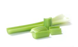 Chopped celery Stock Photo