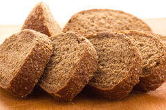 Chopped  cereal bread Royalty Free Stock Photography