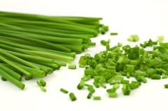 Chopped chive Stock Photography