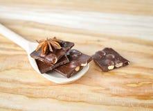 Chopped chocolate Stock Photos