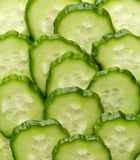 Chopped cucumber Stock Image