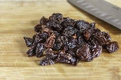 Chopped Dried Fruit Stock Image