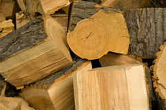 Chopped firewood Stock Photos