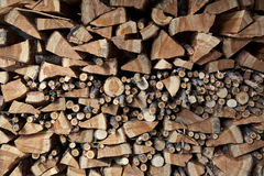Chopped firewood Stock Photography