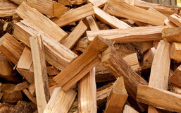 Chopped firewood Royalty Free Stock Photo