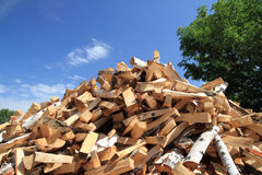 Chopped firewood Royalty Free Stock Photos