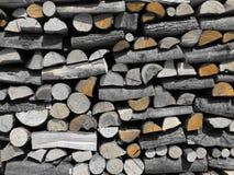 Chopped firewood Stock Image