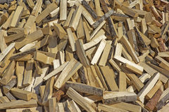 Chopped firewood. Background with pile of chopped firewood Royalty Free Stock Photography