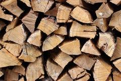 Chopped firewood logs Stock Photo