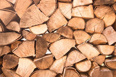 Chopped firewoods Royalty Free Stock Photography
