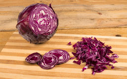 Chopped fresh cabbage Royalty Free Stock Photography