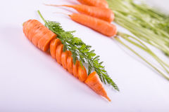 Chopped fresh carrot Royalty Free Stock Photo