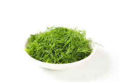 Chopped fresh dill Stock Photo