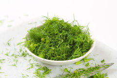 Chopped fresh dill Royalty Free Stock Image