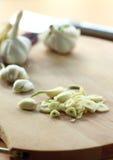 Chopped garlic Royalty Free Stock Photos