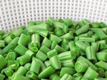 Chopped green beans Royalty Free Stock Photos