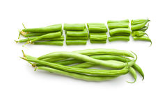 Chopped green beans Royalty Free Stock Photography