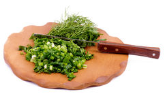 Chopped Greens Stock Photos