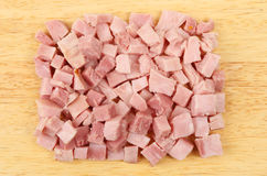 Chopped ham Royalty Free Stock Images