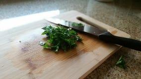 Chopped Herbs Stock Photos