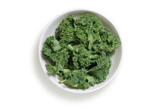 Chopped kale Royalty Free Stock Images