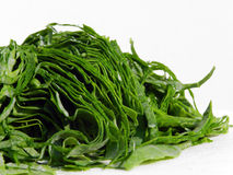 Chopped leaves of kale Stock Photo
