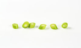 Chopped leek Royalty Free Stock Photography