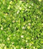 Chopped Leeks Stock Images