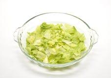 Chopped lettuce Stock Images