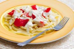 Chopped macaroni Royalty Free Stock Photos