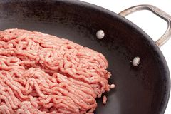 Chopped meat Royalty Free Stock Images