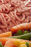 Chopped meat Stock Photography