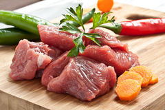 Chopped meat Royalty Free Stock Photography