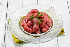 Chopped meat Stock Images